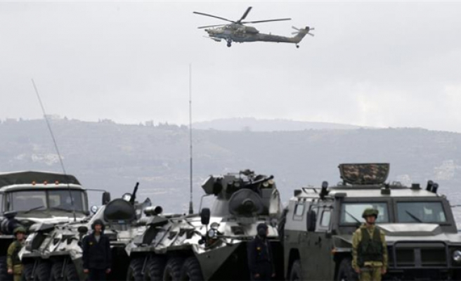 Russia confirms helicopter crash in Syria killed 2