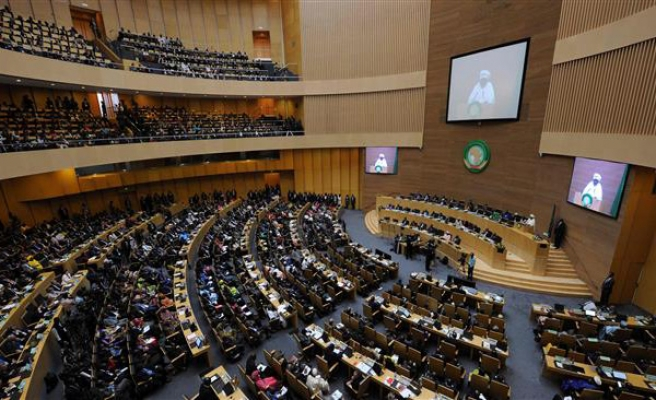 AU calls for political solution to Syrian crisis