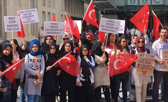Turkish-Americans call for US support