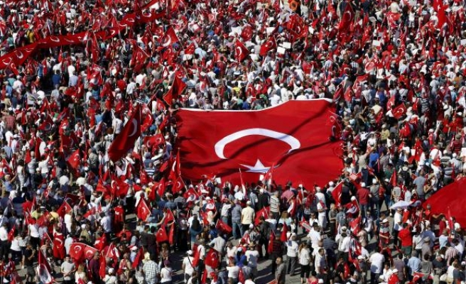 Istanbul's democracy rally in US media