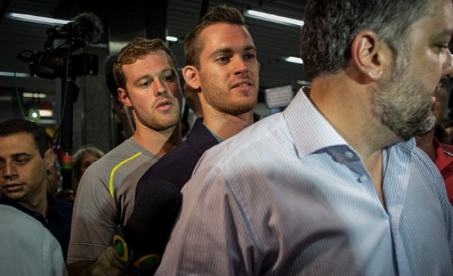 US swimmers lied about alleged Brazil robbery