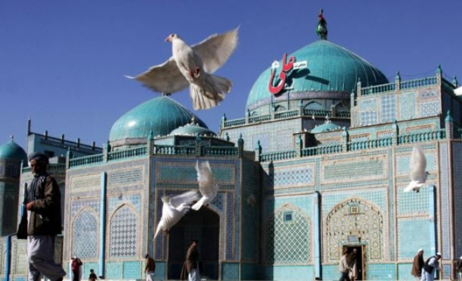 The Timeless Beauty Of Afghanistan's Blue Mosque