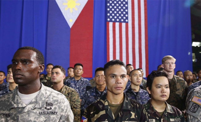 Philippines' Duterte vows to end joint US military drills