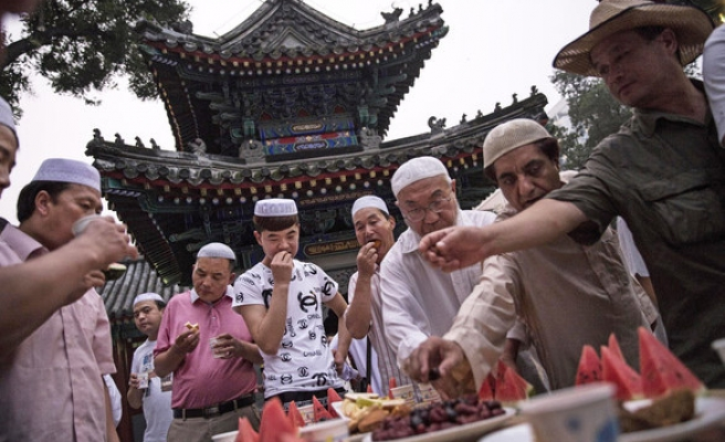 Chinese Muslims, Azerbaijan mark Eid al-Fitr on Monday