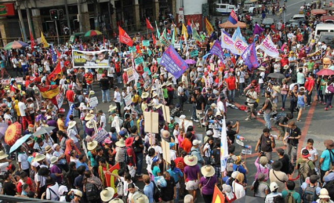 Rallies held in Philippines on anniversary of siege