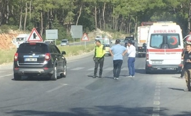 Turkish police detain 25 over Antalya explosion