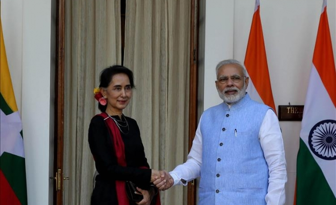 Indian PM celebrates ties with Myanmar
