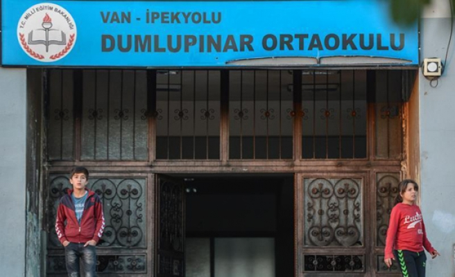 PKK arson attack on school in eastern Turkey