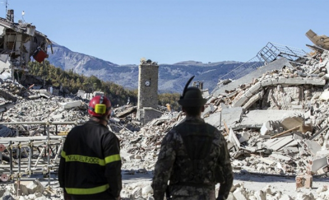 Turkish FM extends sympathies after Italian quake