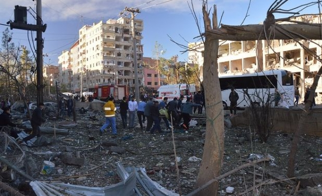Explosion near Diyarbakir's police headquarters