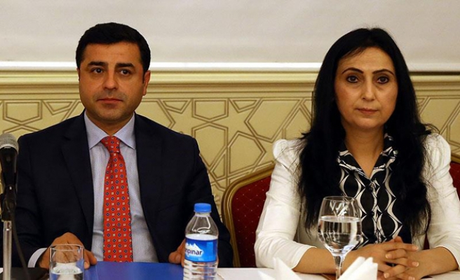 Co-leaders of HDP opposition party arrested