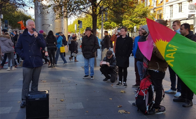 Kurds march in Germany over HDP arrests
