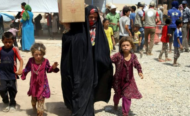 2,000 Iraqis displaced per day