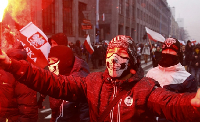 Polish independence rouses far-right nationalists