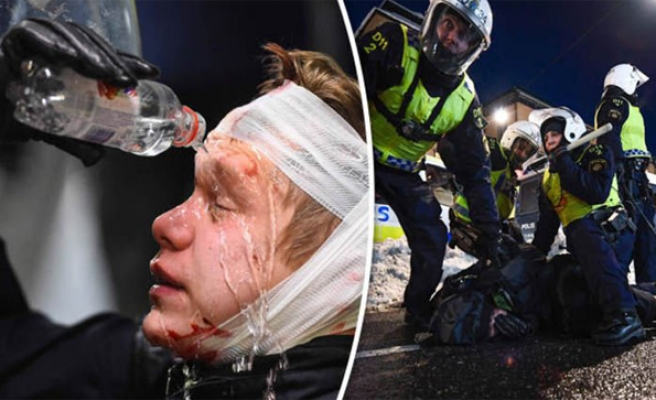Ten arrests, two injured at neo-Nazi rally in Sweden