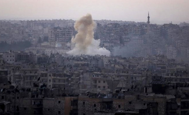 Bombardment shuts down hospitals in Aleppo