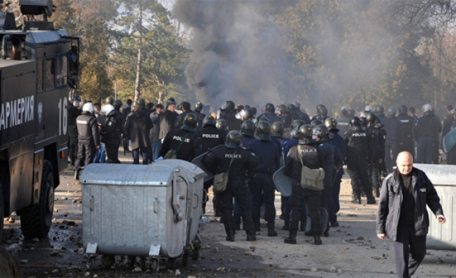 Poor conditions lead to refugees protest in Bulgaria