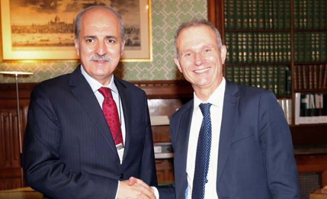 Turkish deputy PM begins UK visit