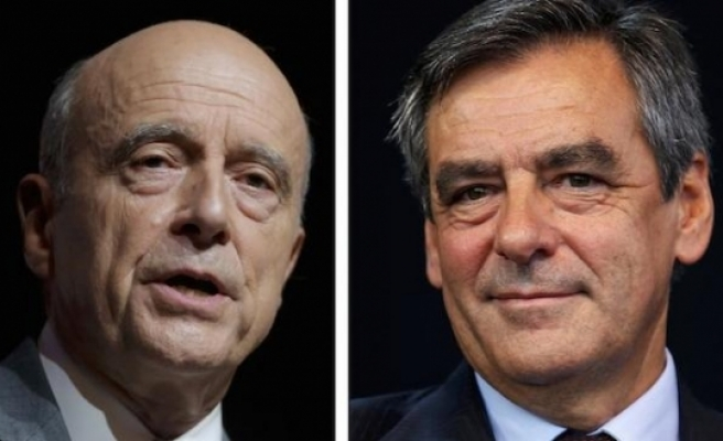 Former French PMs go head-to-head in party race