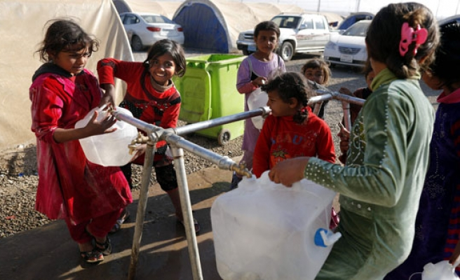 'Catastrophic' water shortages for 500,000 in Mosul