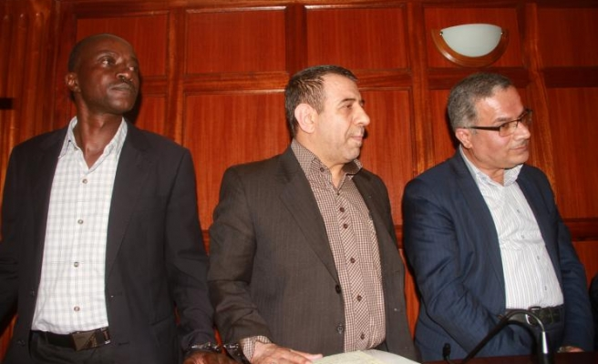 Terror charge for Iranians filming Israeli embassy in Kenya