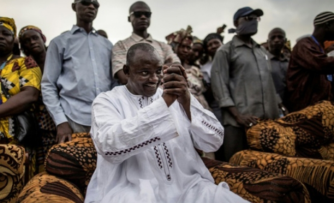 Gambia's new leader claims military's support