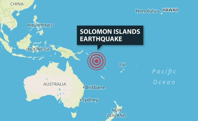 Solomon Islands rattled by 6.9 aftershock