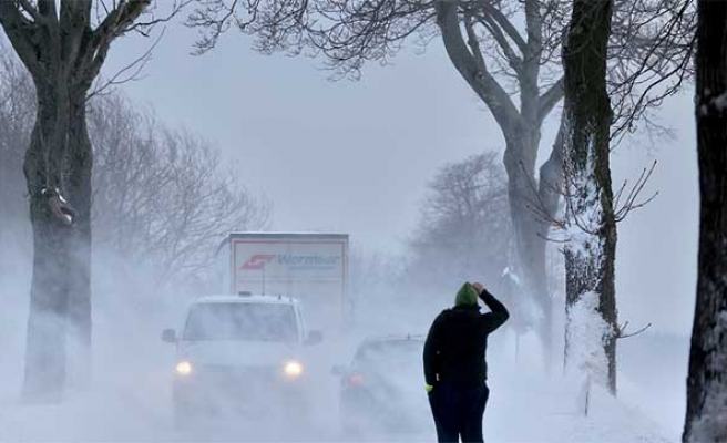 Winter storm batters Europe, killing two