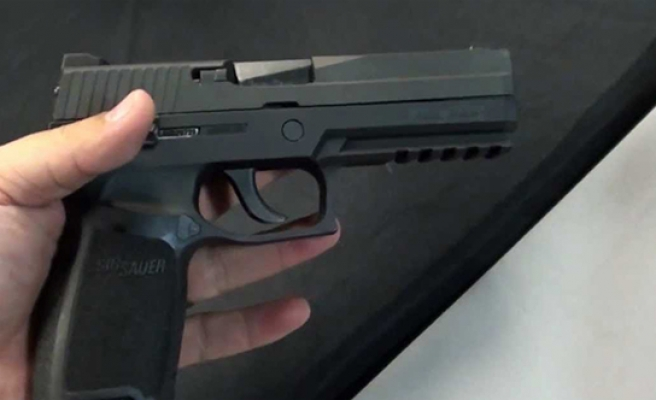 Sig Sauer picked to make US Army's new sidearm