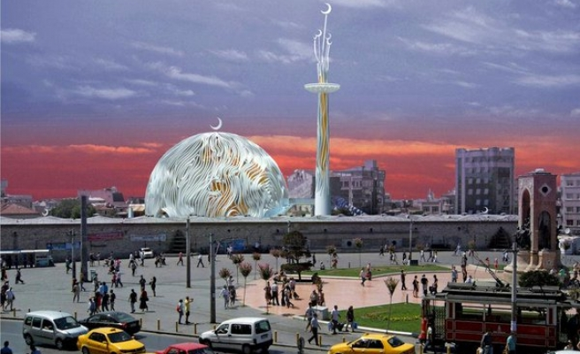 Istanbul begins building new mosque for iconic Taksim