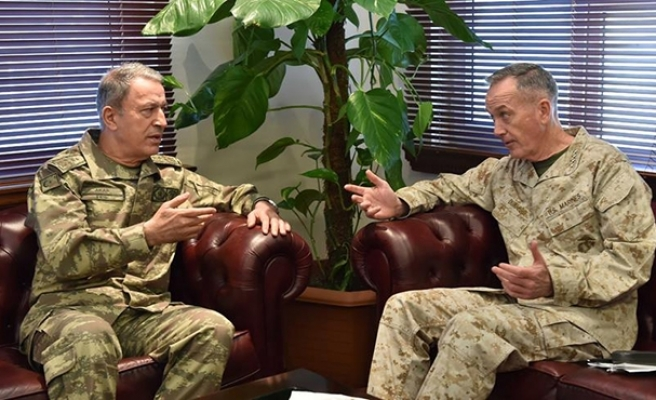 Turkish military chief meets US counterpart in Turkey