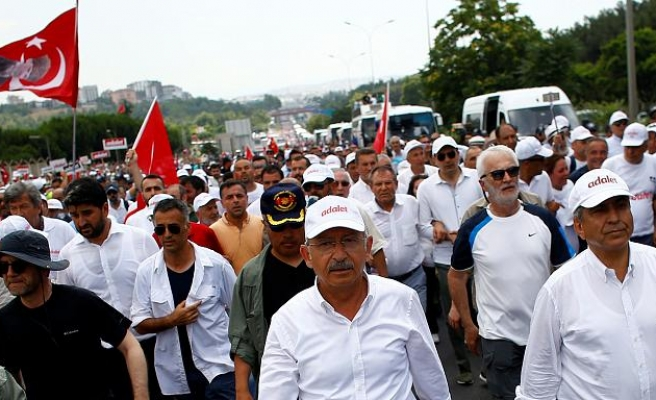 Turkish opposition party to march against terrorism