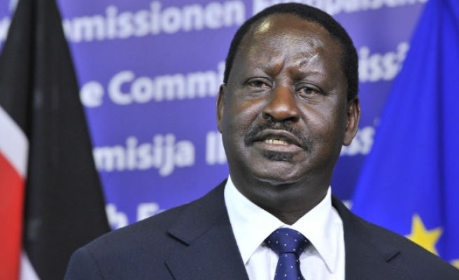 Kenyan opposition head rejects 'sham' presidential poll