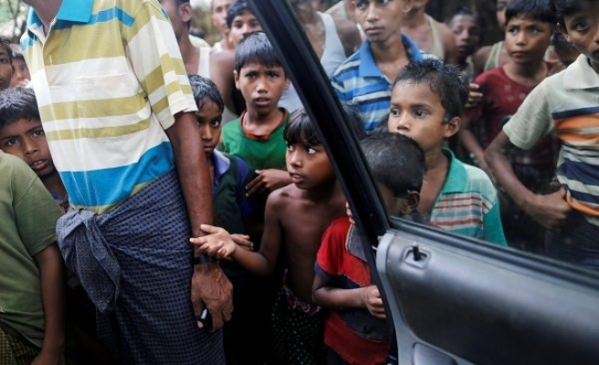 UNICEF brings aid to Rohingya children in Bangladesh