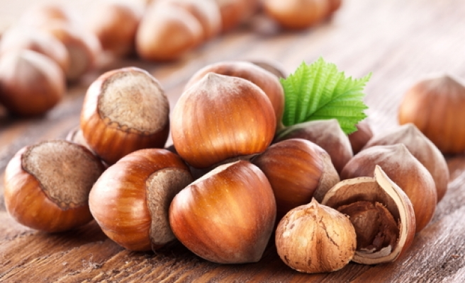 Turkey's hazelnut exports almost double in September