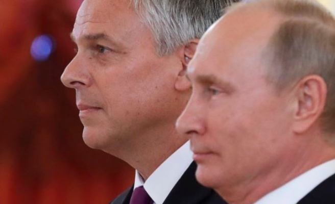 Russia hopes new US envoy to contribute to ties