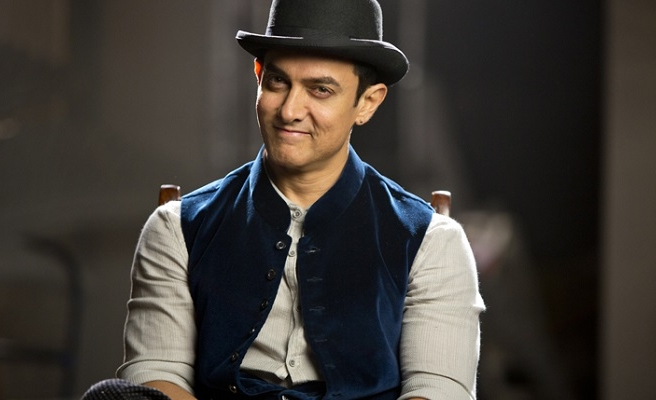 Indian actor Aamir Khan arrives in Istanbul
