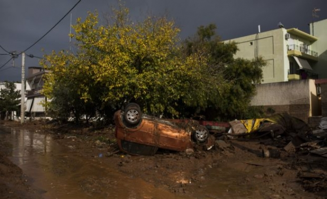 Greece unveils flood relief measures as death toll hits 20