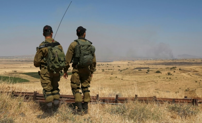 Israel hits Palestinian military positions in Gaza