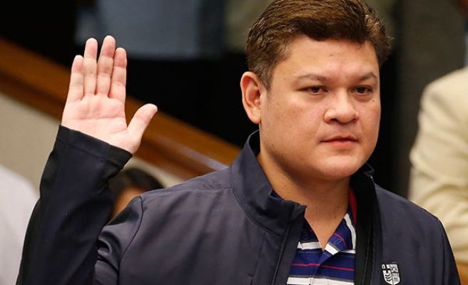 Son of Philippine president steps down as deputy mayor