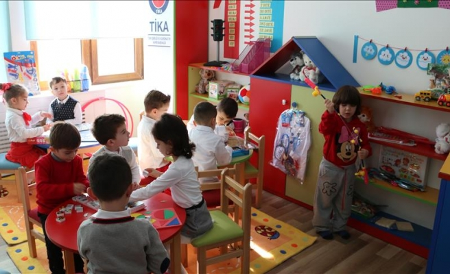 Turkish aid agency restores kindergartens in Kosovo