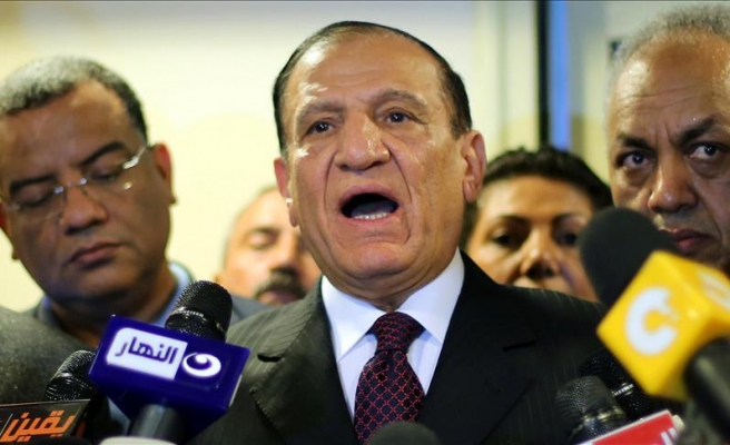 Ex-army chief to contest Egypt elections