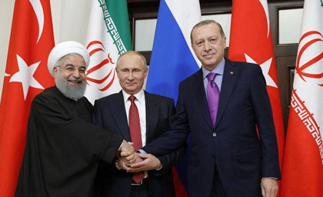Turkish, Russian, Iranian leaders to meet in Istanbul