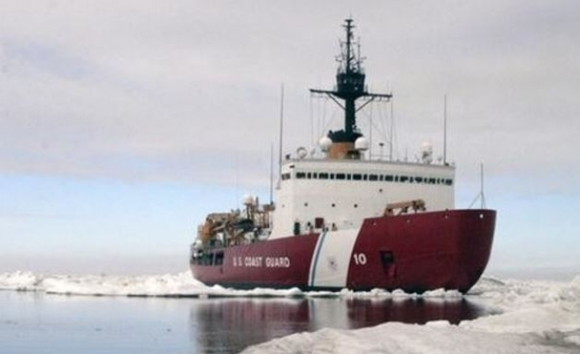 The first tanker that crossed the melted Arctic in winter