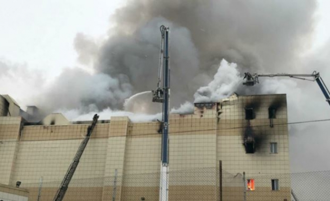Shopping mall fire in Siberia kills 53
