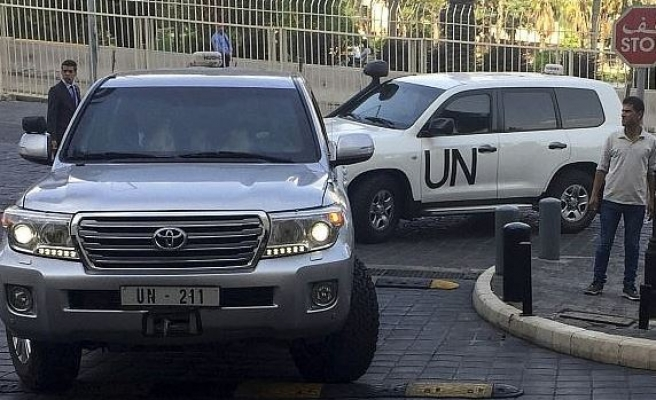 Chemical inspectors launch probe in Syria