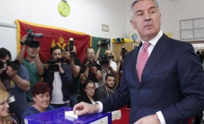 Montenegro's Djukanovic claims presidential triumph