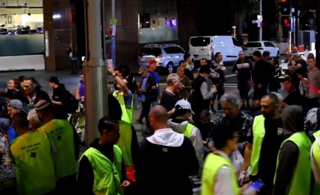 What this Muslim group do in Sydney?