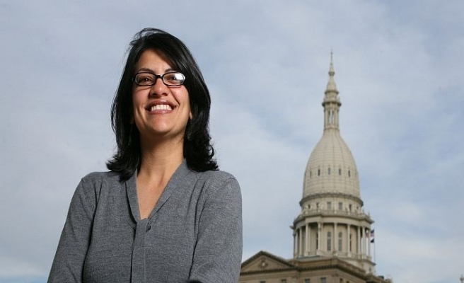 Rashida Tlaib becomes the first Muslim woman in US Congress