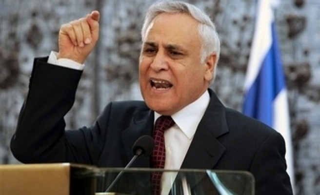 Ex-Israel President Katsav formally charged in sex case